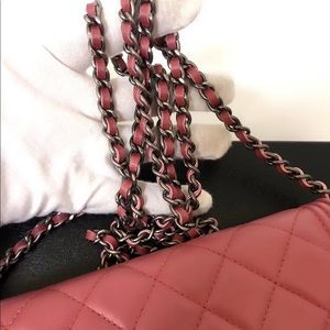 CHANEL Bags - Authentic Chanel Lambskin Quilted Boy WOC